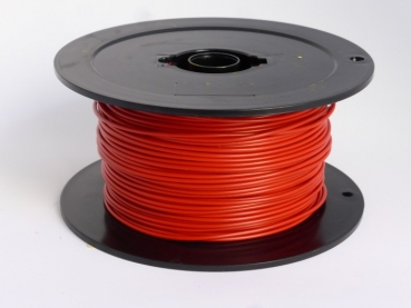 Modellbahnlitze 0,5mm² 100m rot